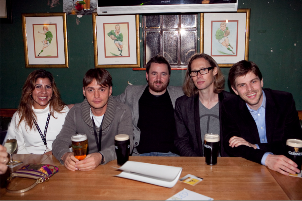 Average Dublin Pub seen; Bindi Karia, Andrey Andreev, Eamon Leonard, Michael Birch, Mattias Ljungman.