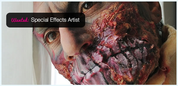 Wanted: Special Effects Artist